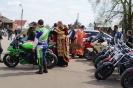 10 мая в Воскресенский собор прибыла колонна байкеров