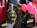 Благочинный Романово-Борисоглебского округа протоиерей Василий Мозяков принял участие в торжественном митинге в честь Дня Победы