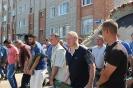 По правобережной стороне г. Тутаева (Романова-Борисоглебска) прошел городской крестный ход с образом Спасителя