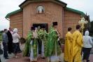 Божественная литургия в поселке Константиновский