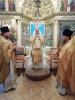 Архиерейское богослужение в Покровской церкви