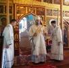 Архиерейское богослужение в Вознесенской (Леонтиевской) церкви