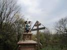 Освящение и установление креста на часовне