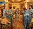 В Покровском храме было совершено архиерейское богослужение