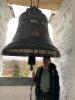 На колокольне Воскресенского собора установлен новый колокол