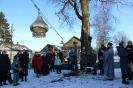 На колокольню Покровского храма установлены новые купол и крест