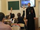 В воскресной школе при Воскресенском соборе отметили День Победы