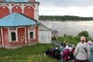 В Казанский храм принесена чтимая Казанская икона Божией Матери