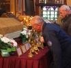 В Воскресенский собор принесены ковчеги с частицами мощей святых