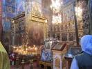 Божественную литургию в Воскресенском соборе совершает Преосвященнейший Вениамин, епископ Рыбинский и Угличский. 25.06. 2012